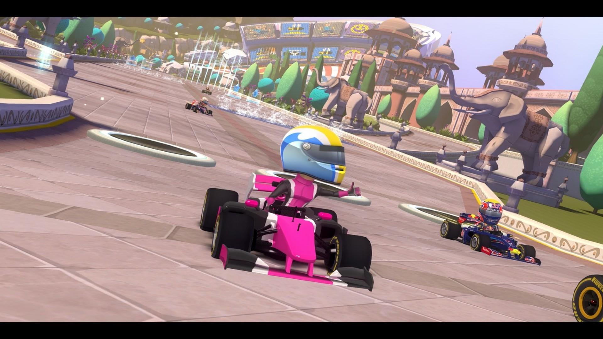 F1 Race Stars - India Track screenshot