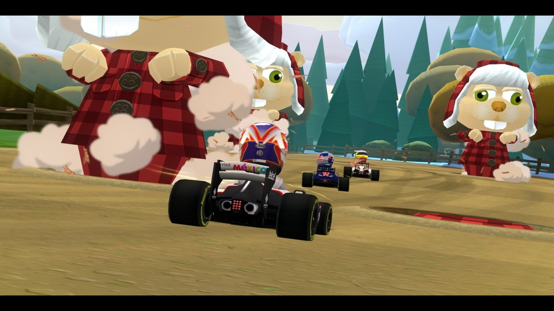 F1 Race Stars - Canada Track screenshot