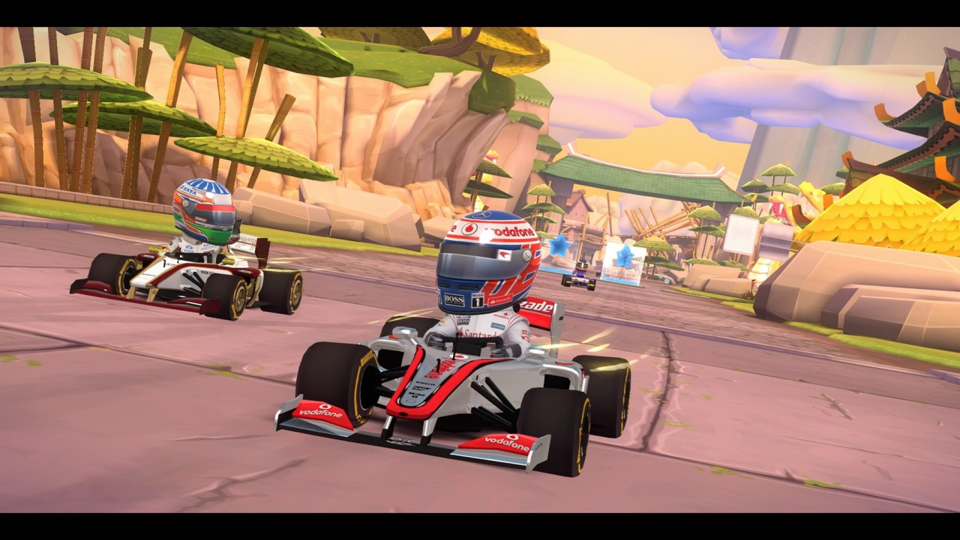 F1 Race Stars - China Track screenshot