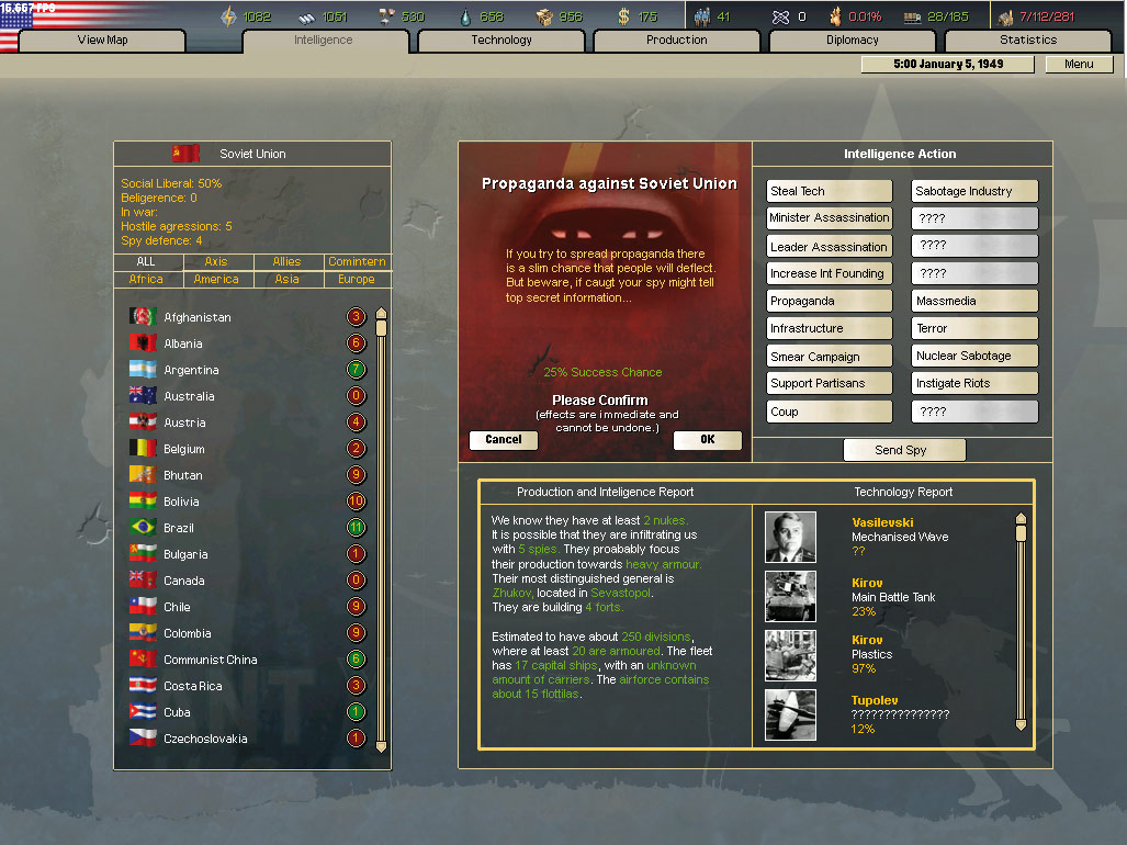 Hearts of Iron 2 Complete screenshot