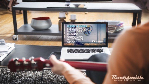 Rocksmith 2014 on Laptop