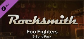 Rocksmith - Foo Fighters - Song Pack