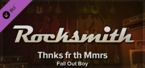 Rocksmith - Fall Out Boy - Thnks fr th Mmrs