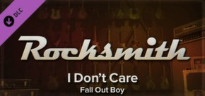 Rocksmith - Fall Out boy - I Don't Care