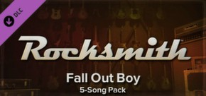 Rocksmith - Fall Out Boy Song-Pack