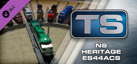 Train Simulator: Norfolk Southern Heritage ES44ACs Loco Add-On