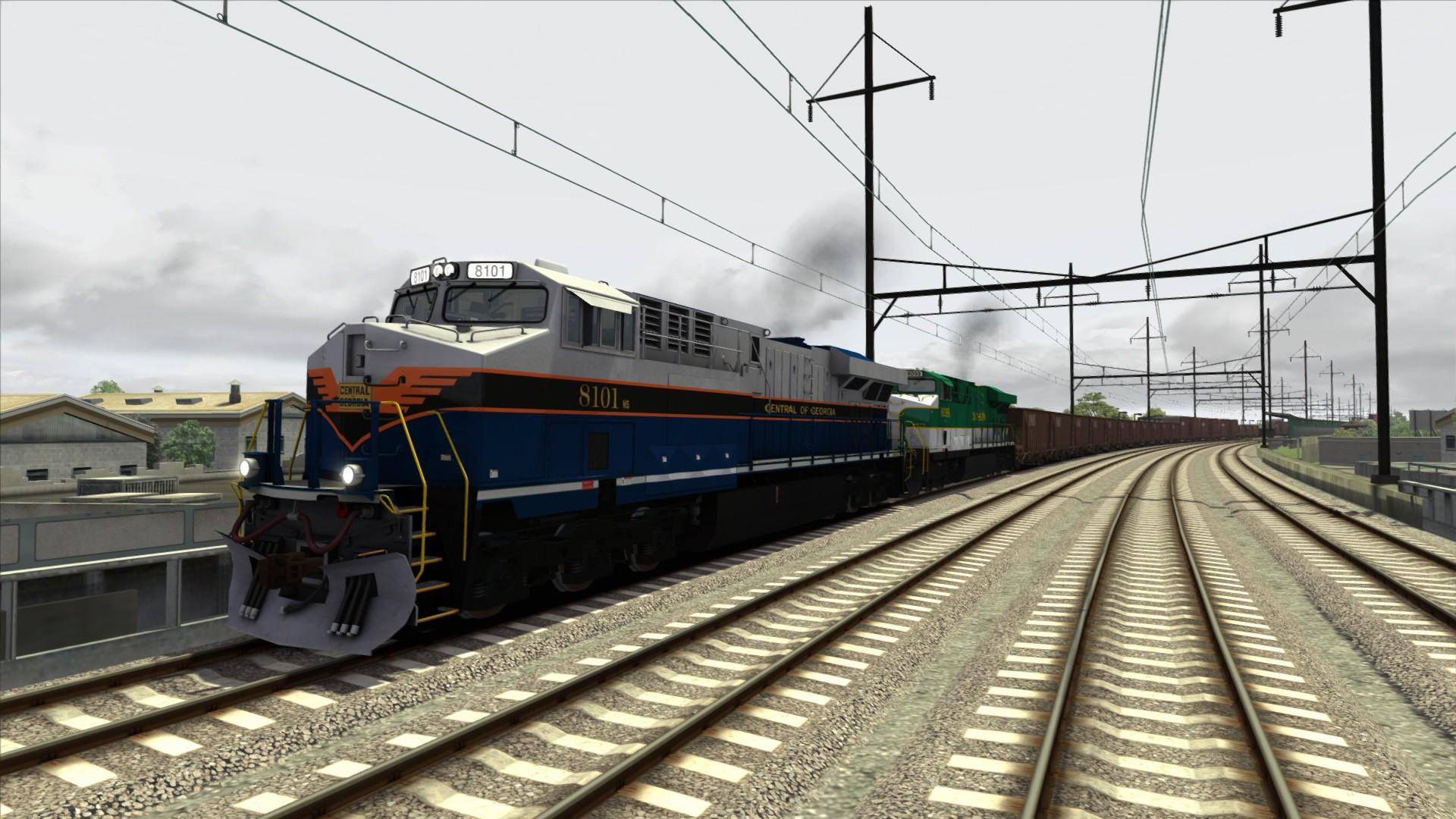 Train Simulator: Norfolk Southern Heritage ES44ACs Loco Add-On screenshot