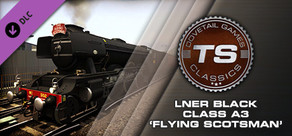 Train Simulator: LNER Black Class A3 'Flying Scotsman' Loco Add-On