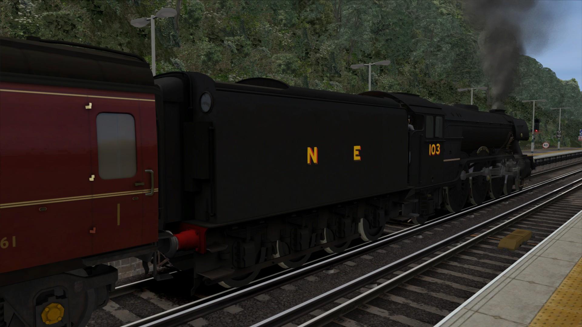 Train Simulator: LNER Black Class A3 'Flying Scotsman' Loco Add-On screenshot