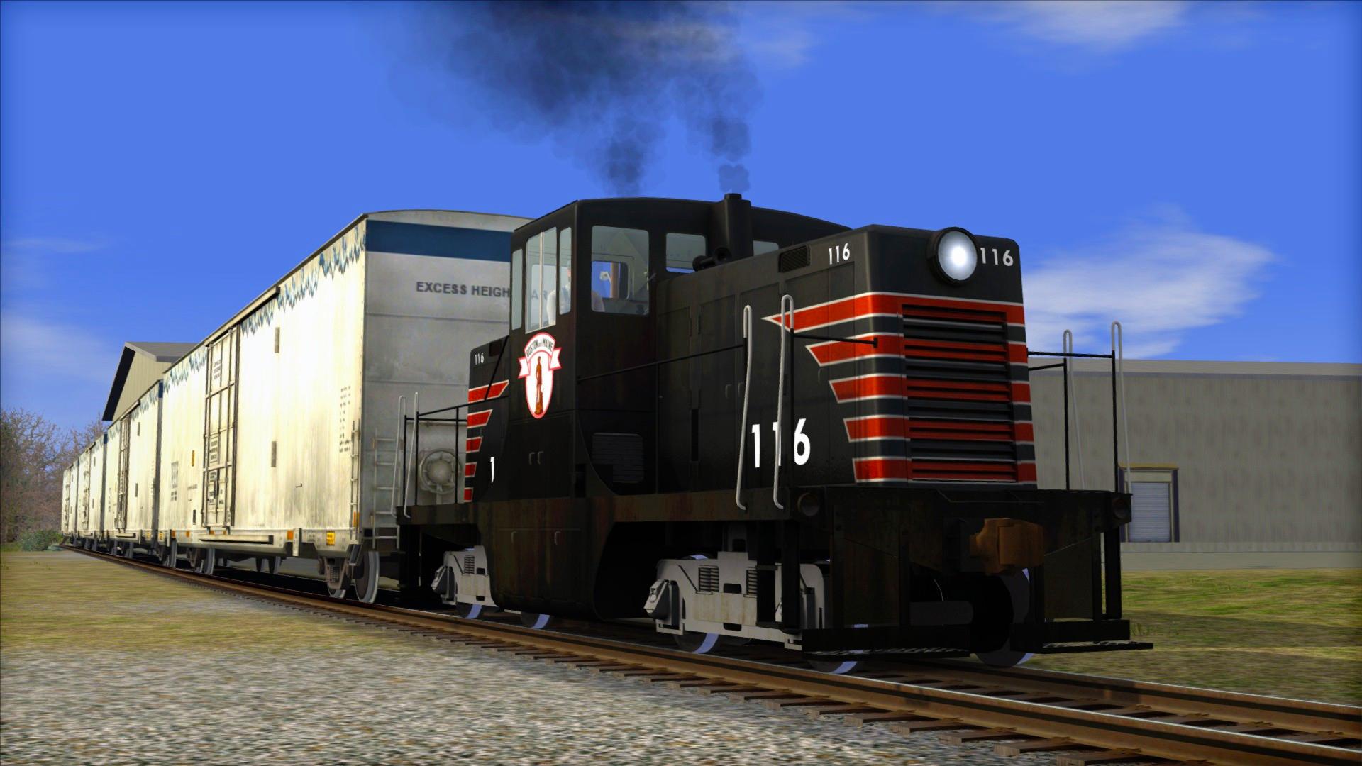Train Simulator: Boston & Maine GE 44 Loco Add-On screenshot