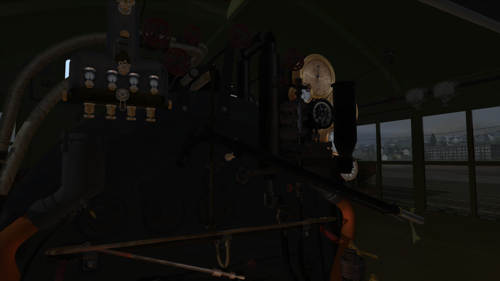 Train Simulator: AT&N Consolidation Class 280-157 Loco Add-On screenshot
