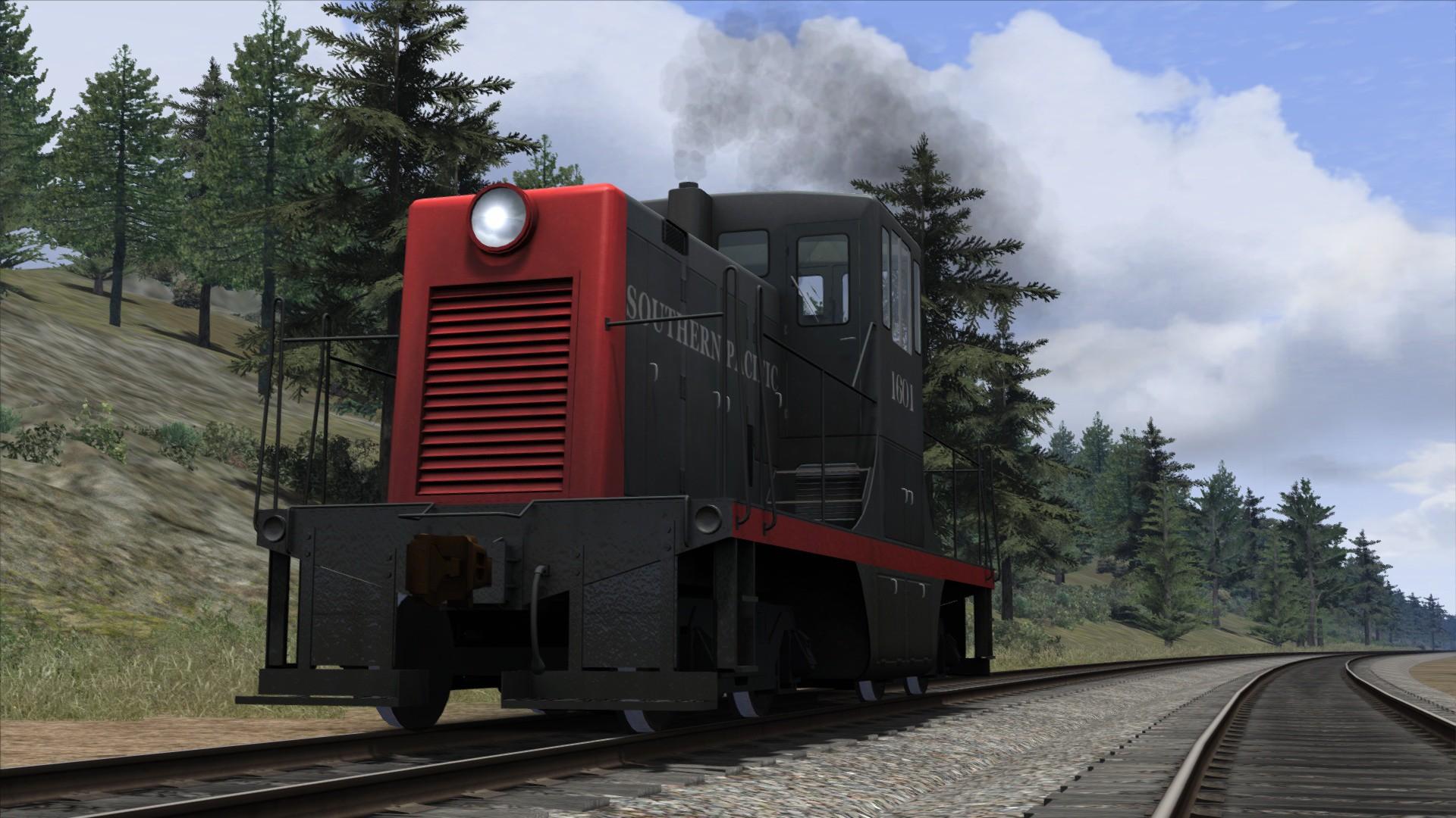 Train Simulator: Southern Pacific GE 44 Loco Add-On screenshot