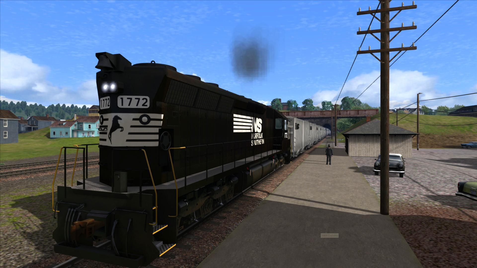 Train Simulator: Norfolk Southern SD45 High Hoods Loco Add-On screenshot