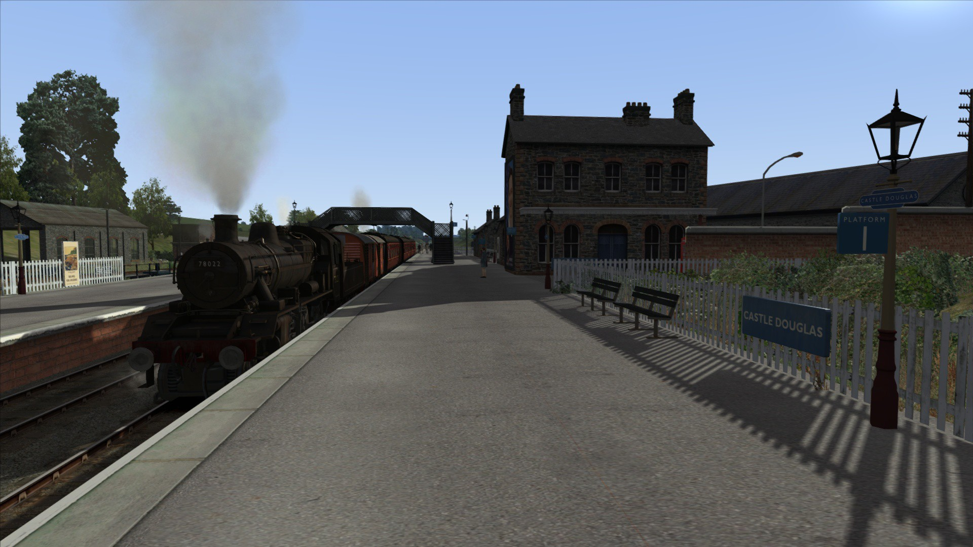 Train Simulator: BR Standard Class 2MT Loco Add-On screenshot