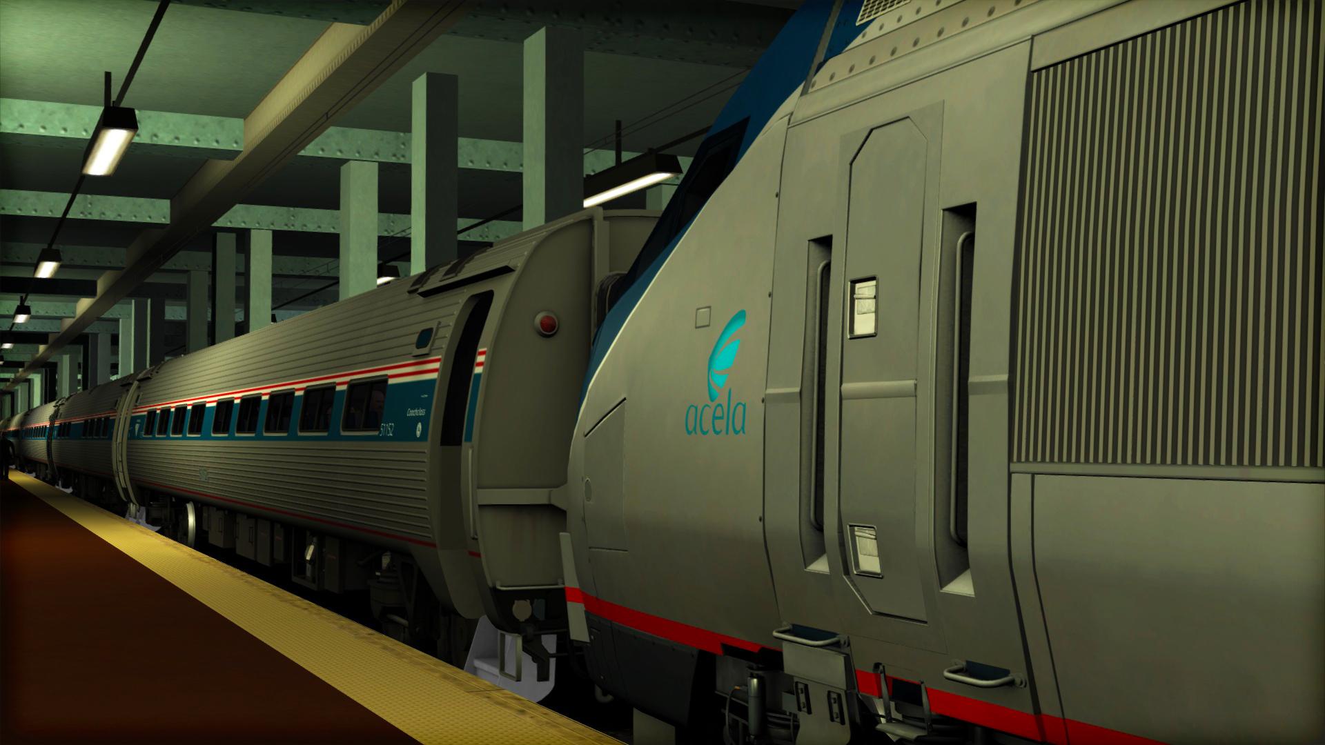 Train Simulator: Amtrak HHP-8 Loco Add-On screenshot