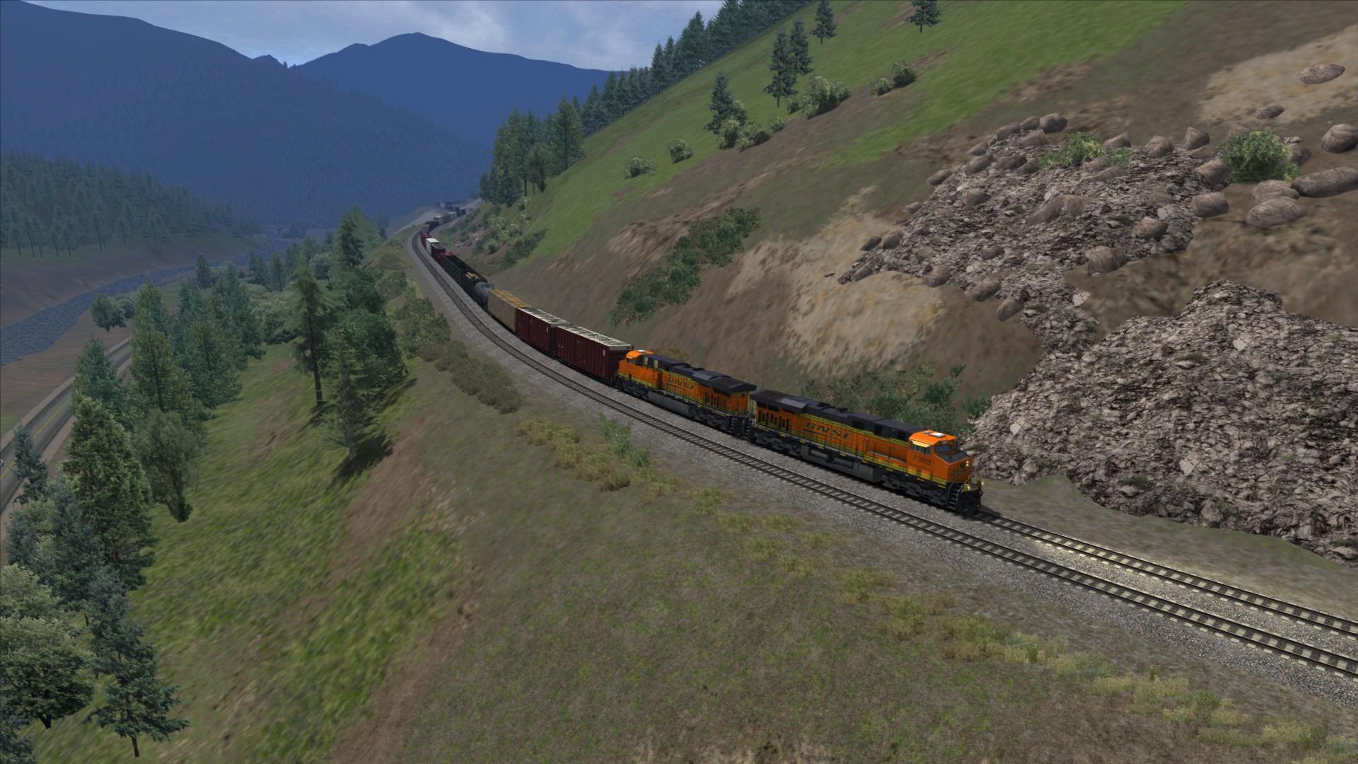 Train Simulator: Marias Pass Route Add-On screenshot