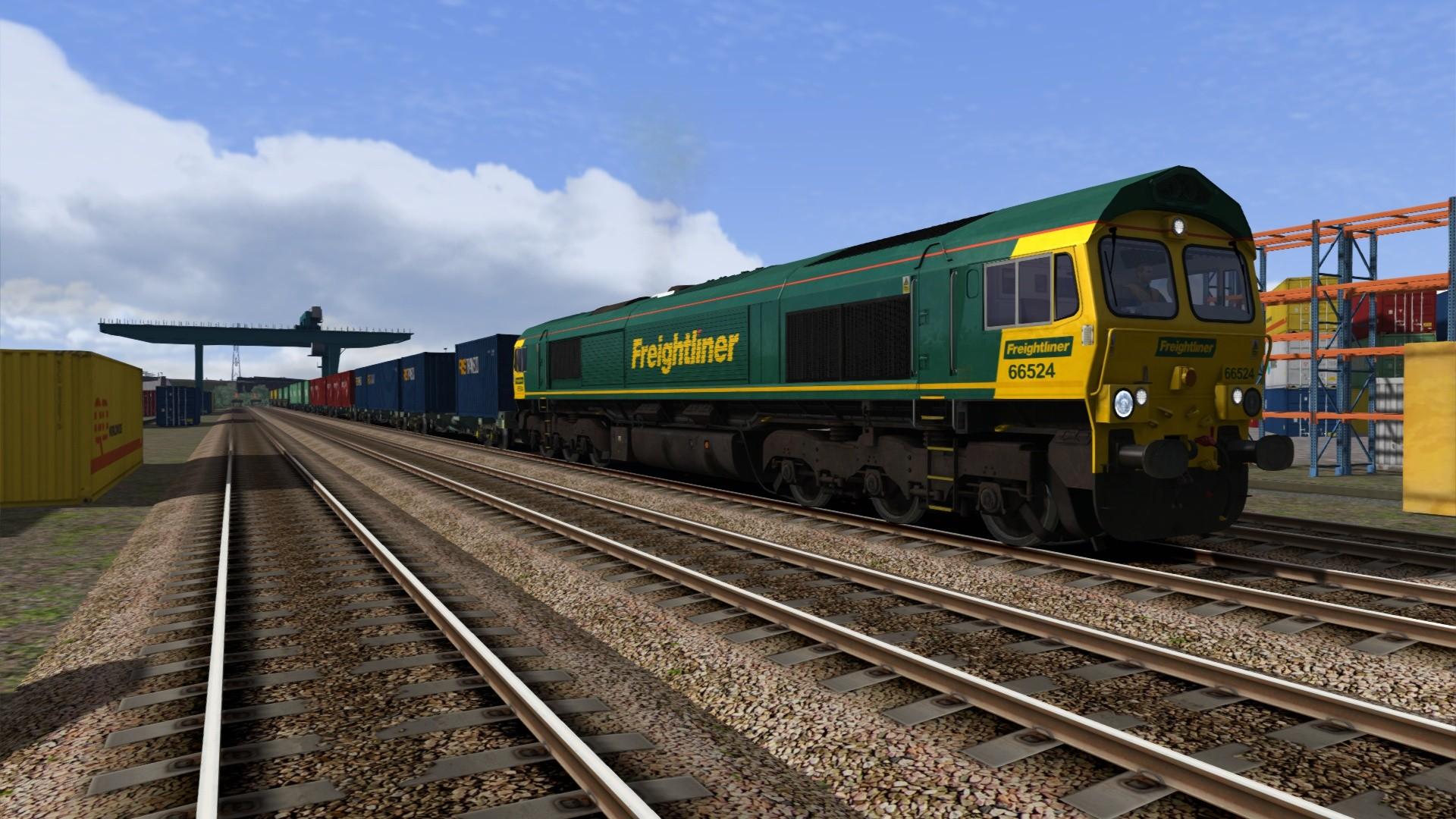 Train Simulator: Freightliner Class 66 v2.0 Loco Add-On screenshot