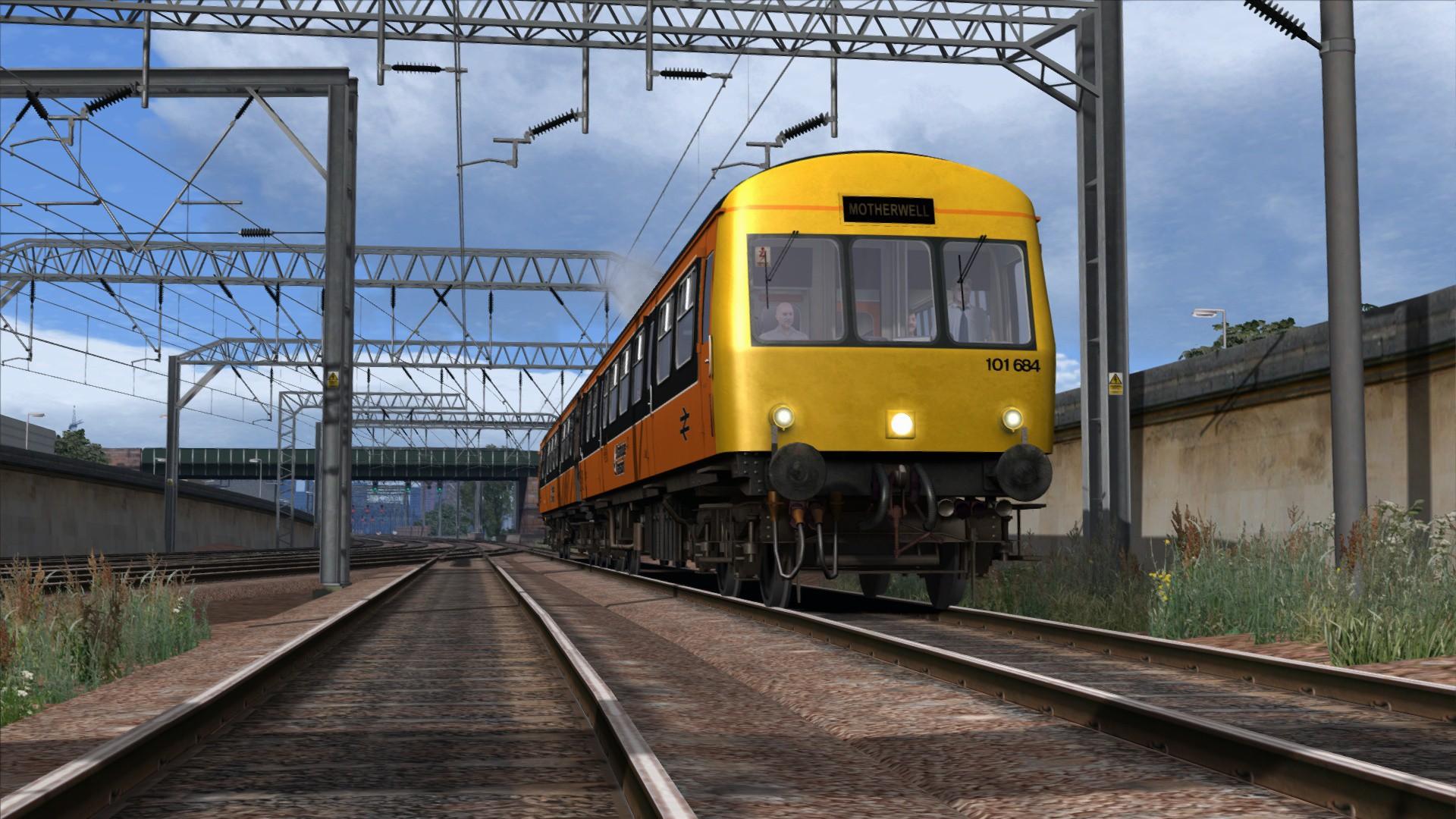 Train Simulator: Strathclyde Class 101 DMU Add-On screenshot