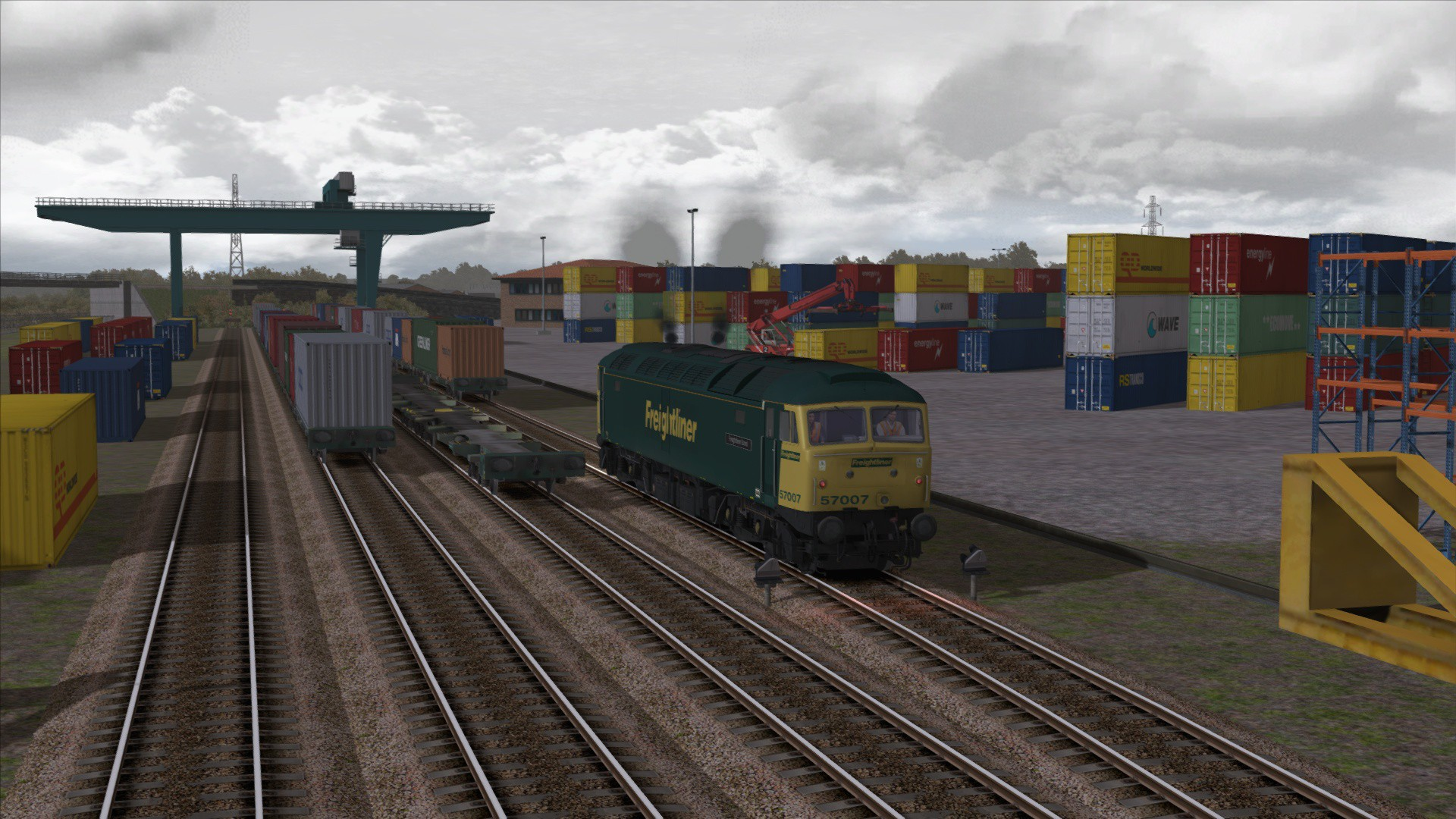Train Simulator: Freightliner Class 57/0 Loco Add-On screenshot
