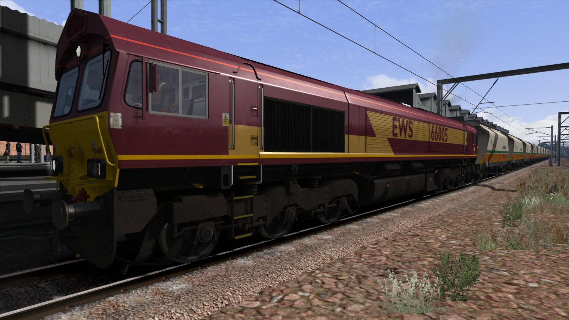 Train Simulator: EWS Class 66 v2.0 Loco Add-On screenshot