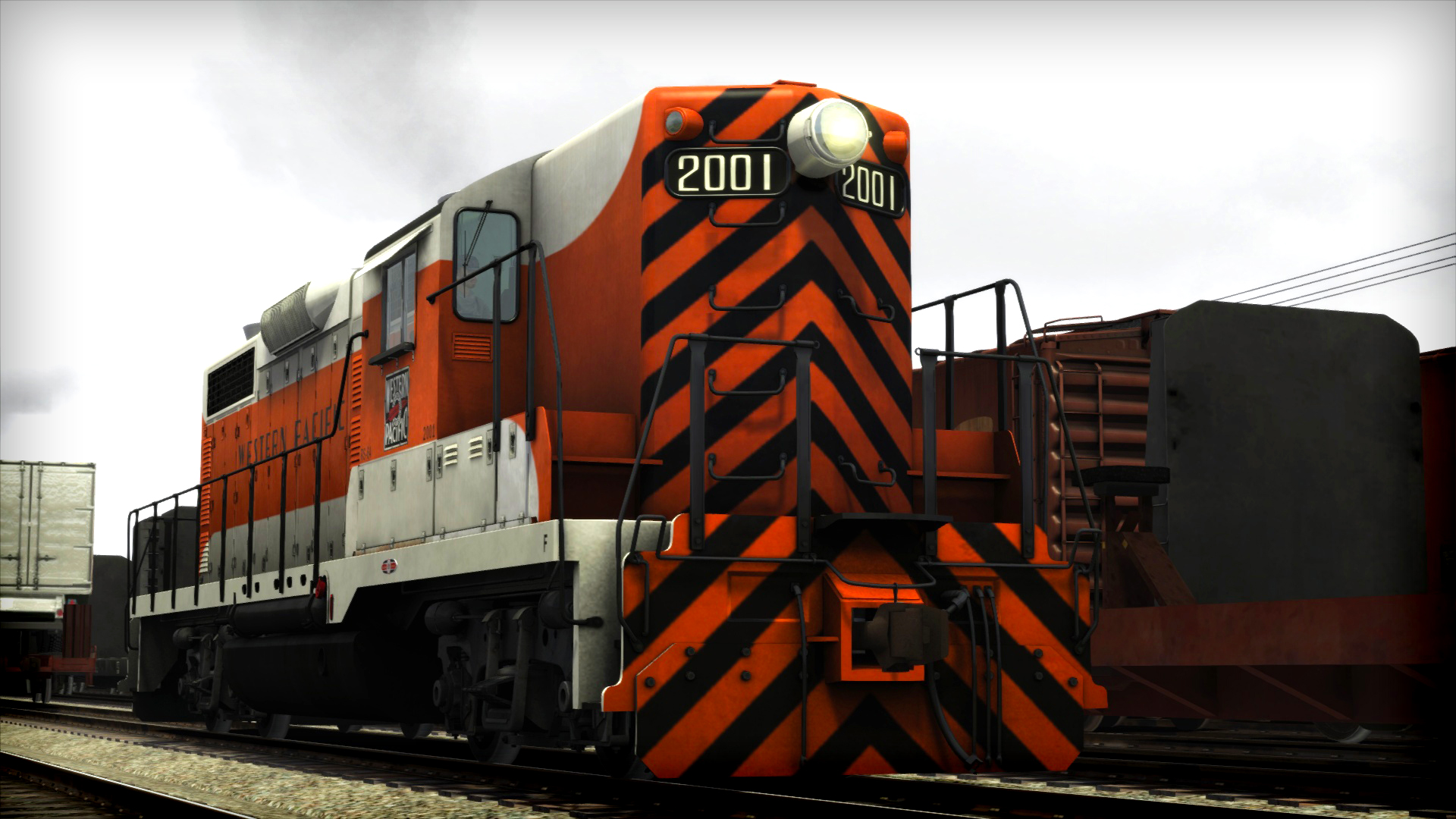 Train Simulator: Western Pacific GP20 High Nose Loco Add-On screenshot