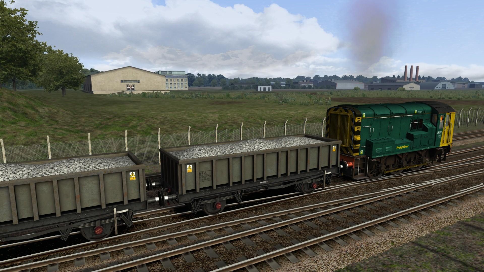 Train Simulator: EWS & Freightliner Class 08s Loco Add-On screenshot