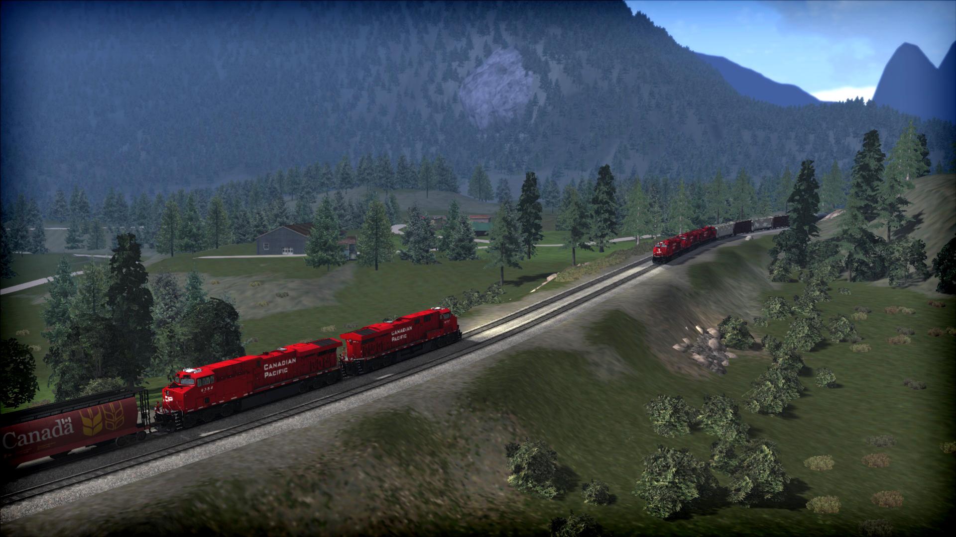 Train Simulator: Canadian Mountain Passes: Revelstoke-Lake Louise screenshot