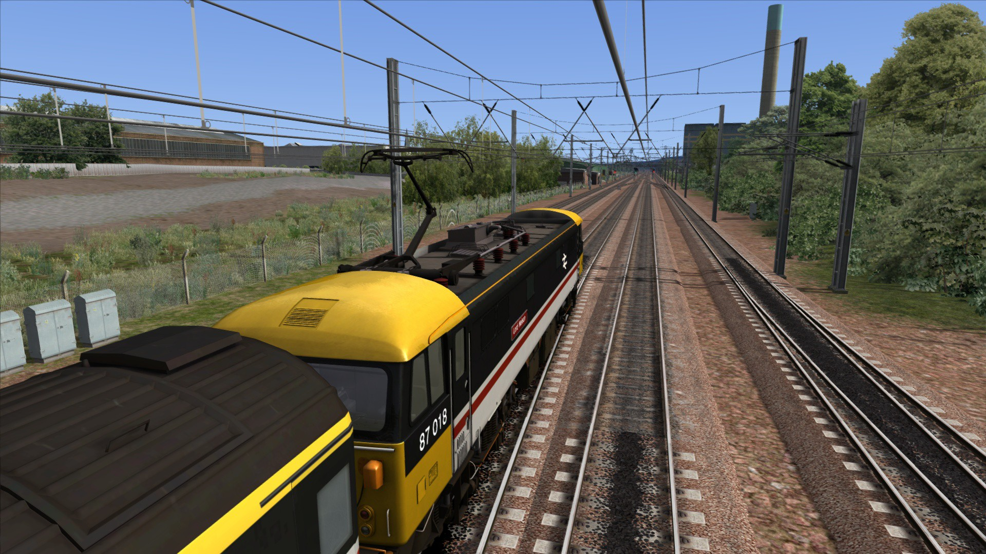 Train Simulator: BR Class 87 Loco Add-On screenshot