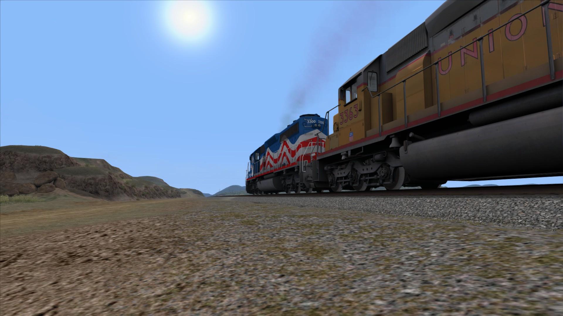 Train Simulator: SD40-2 Independence Loco Add-On screenshot