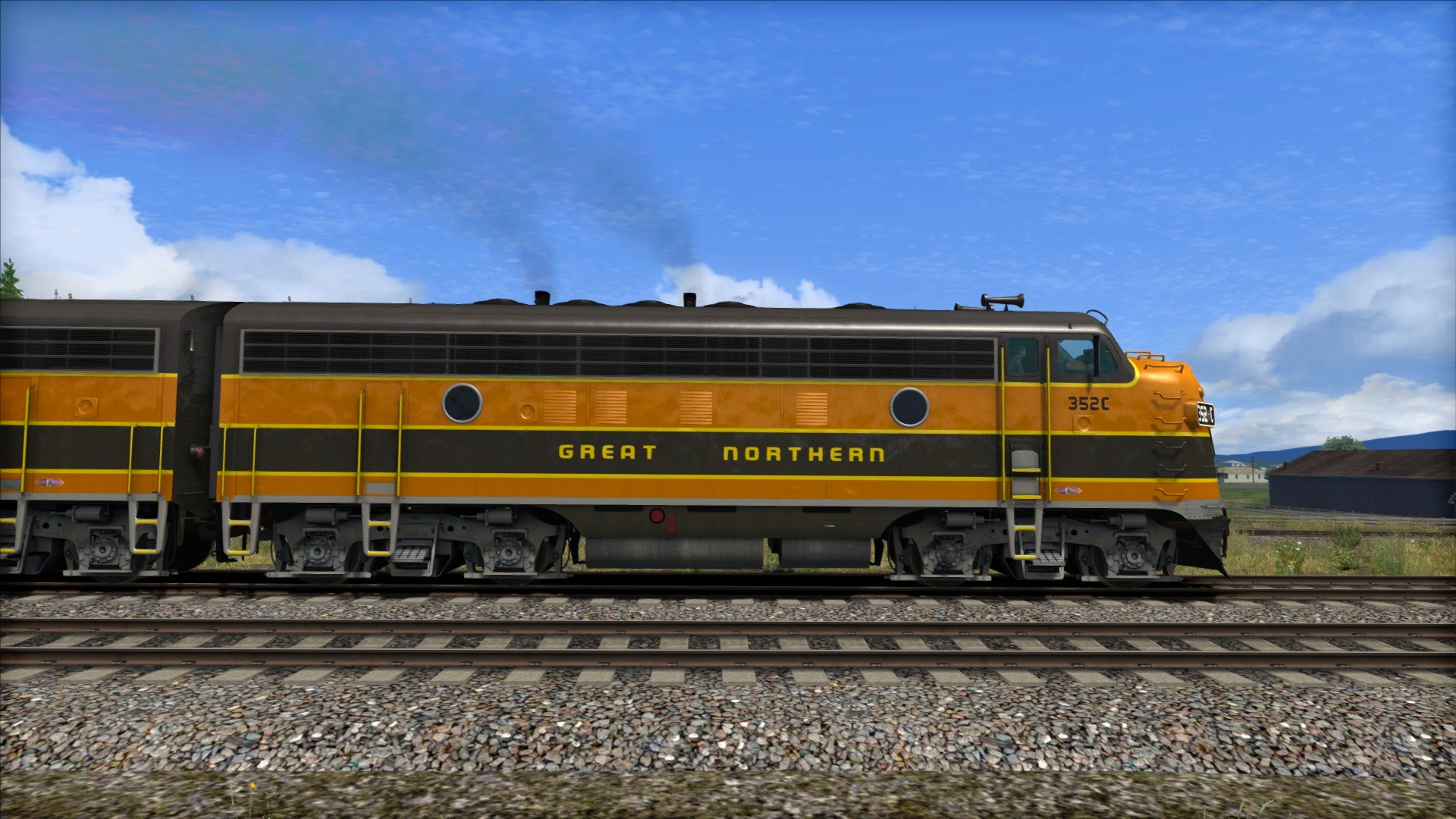 Train Simulator: Great Northern F7 'Empire Builder' Loco Add-On screenshot
