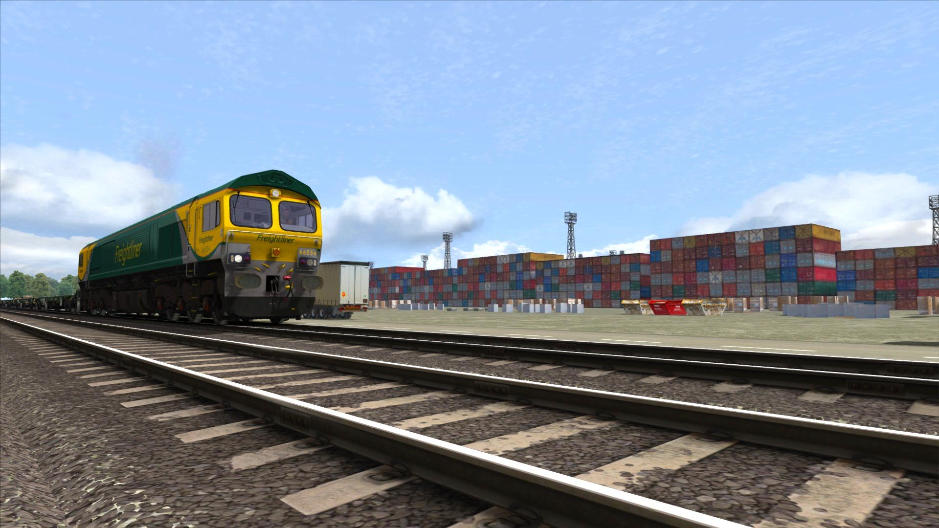 Train Simulator: Powerhaul Class 66 V2.0 Loco Add-On screenshot