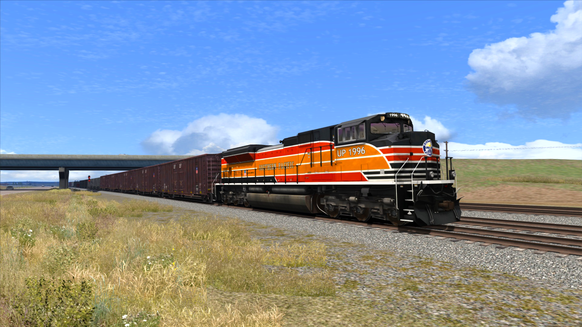 Train Simulator: Union Pacific Heritage SD70ACes Loco Add-On screenshot