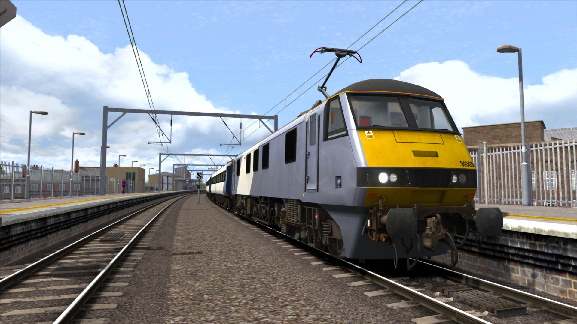 Train Simulator: GEML Class 90 Loco Add-On screenshot