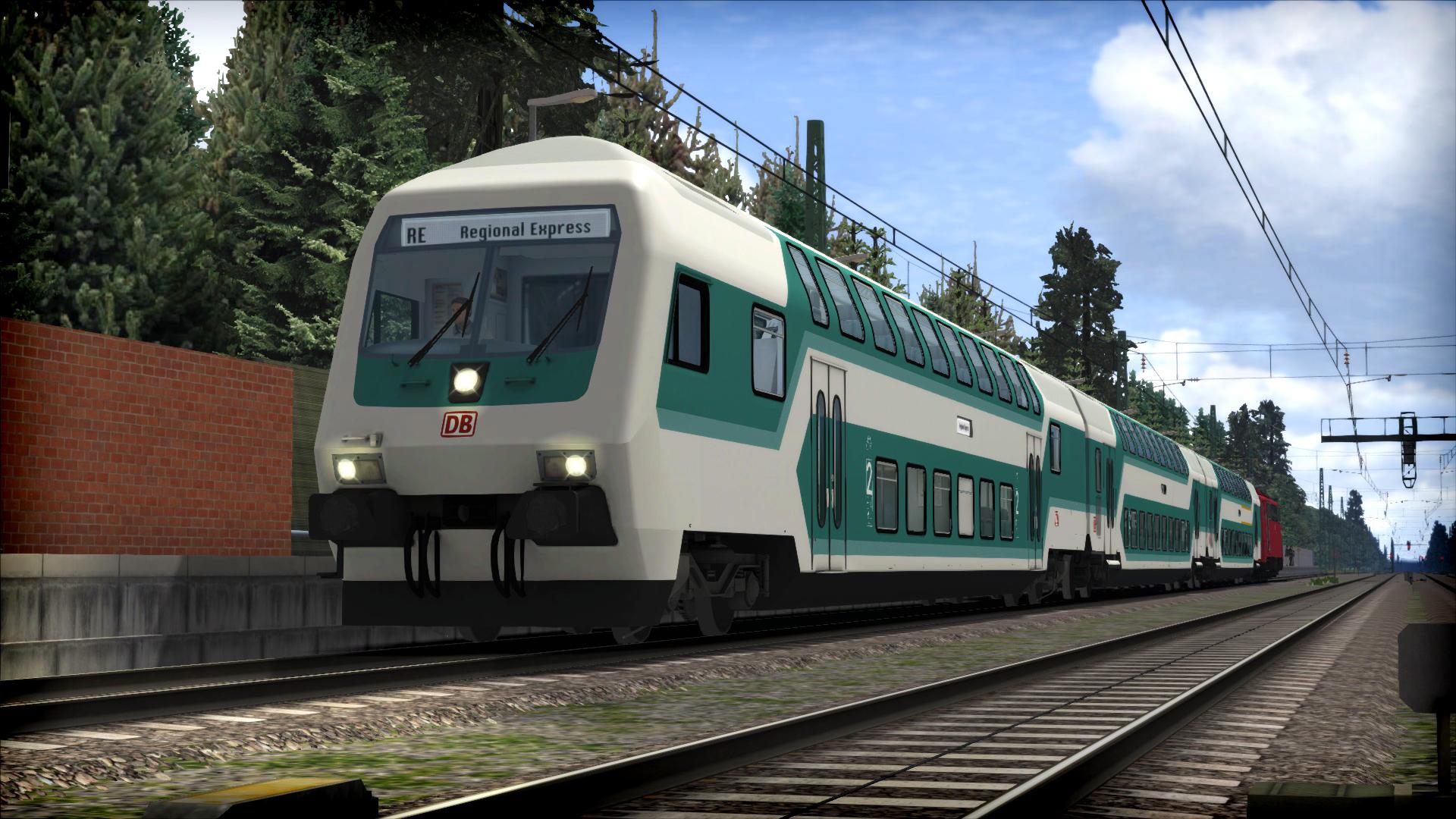Train Simulator: DB BR111 Loco Add-On screenshot