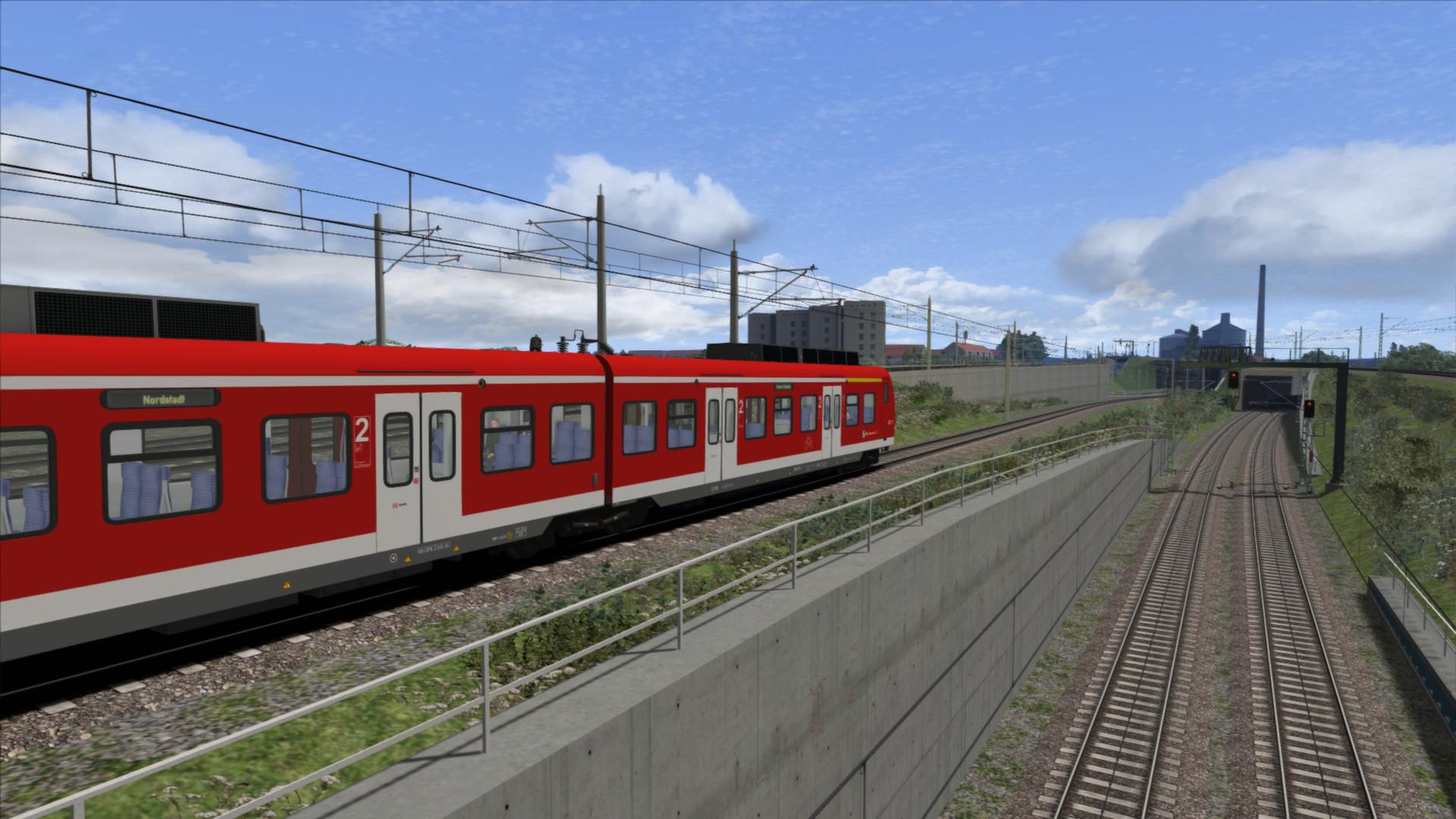 Train Simulator: DB BR424 EMU Add-On screenshot