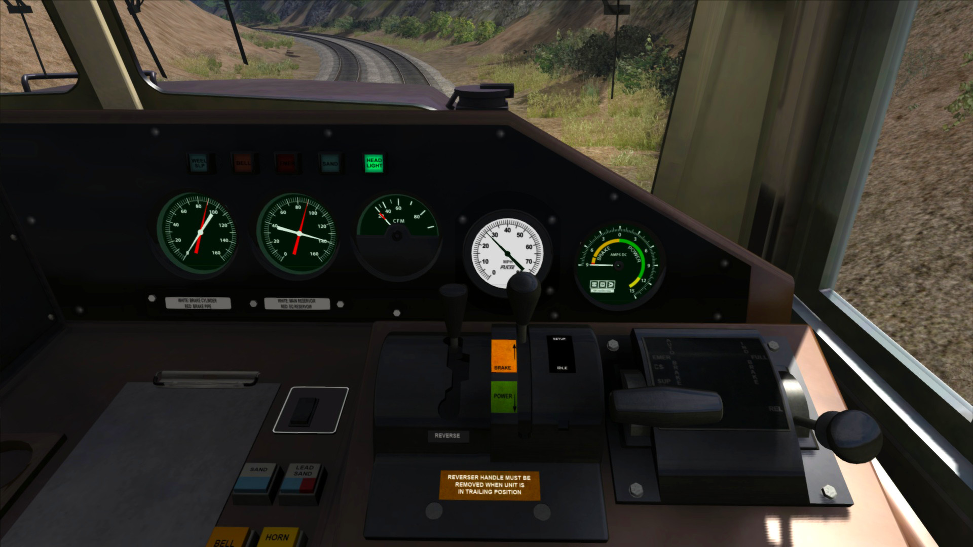 Train Simulator: Southern Pacific SD70M Loco Add-On screenshot