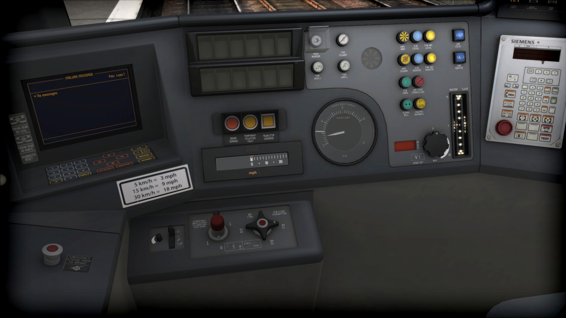 Train Simulator: EWS Class 92 Loco Add-On screenshot
