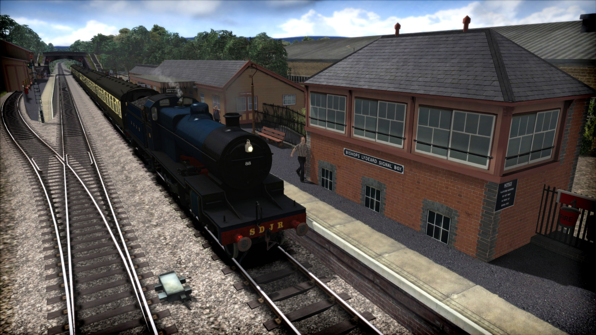 Train Simulator: West Somerset Railway Route Add-On screenshot