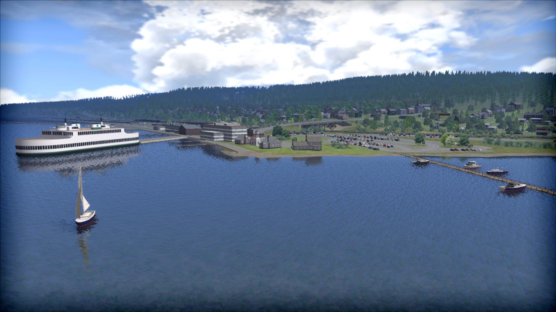 Train Simulator: Stevens Pass Route Add-On screenshot