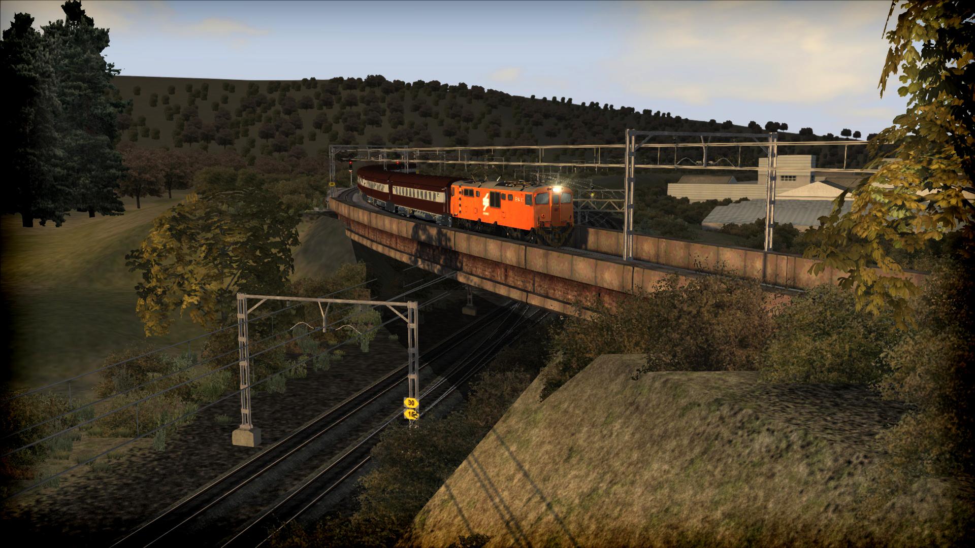 Train Simulator: KwaZulu-Natal Corridor: Pietermaritzburg-Ladysmith Add-On screenshot
