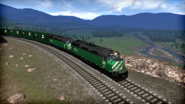 скриншот Burlington Northern F45 Loco Add-On 2