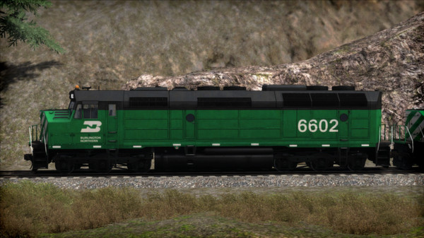 скриншот Burlington Northern F45 Loco Add-On 4
