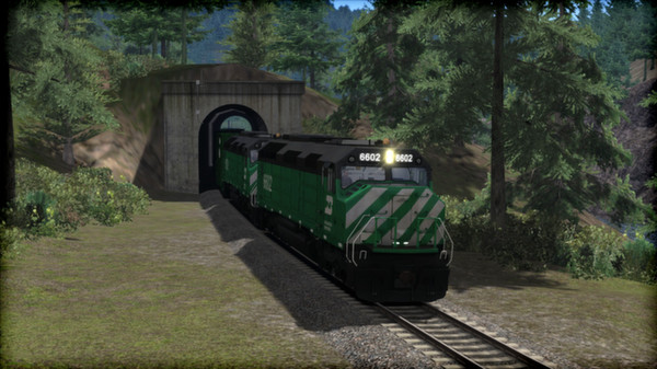 скриншот Burlington Northern F45 Loco Add-On 0