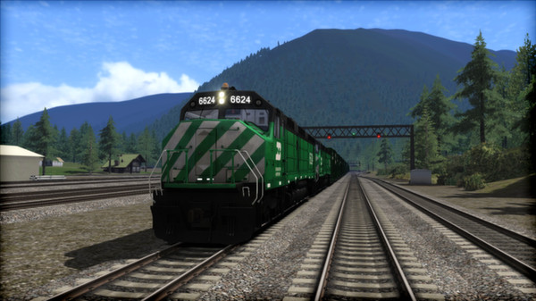 скриншот Burlington Northern F45 Loco Add-On 5