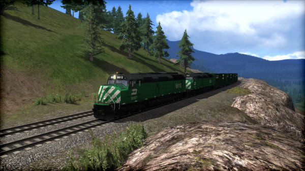 скриншот Burlington Northern F45 Loco Add-On 1