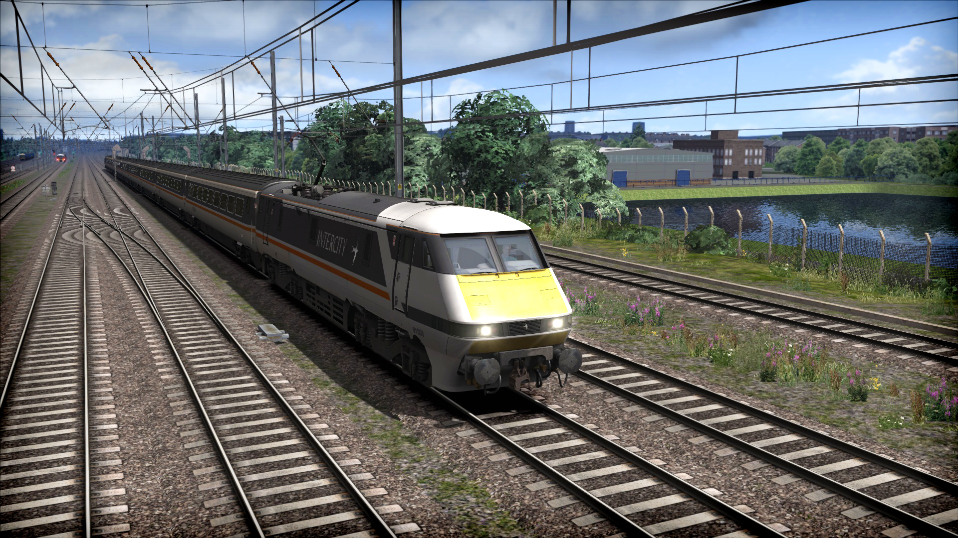 Train Simulator: InterCity Class 91 Loco Add-On screenshot