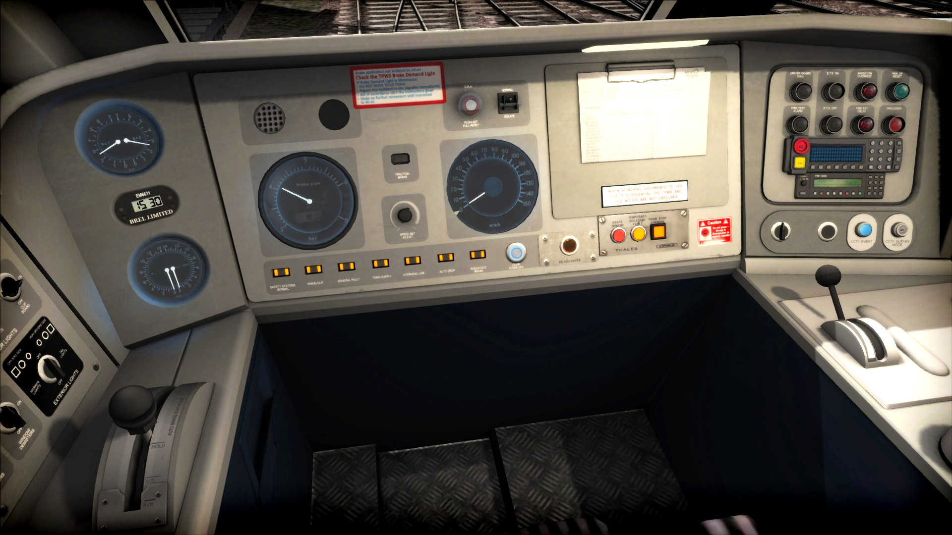 Train Simulator: InterCity Class 91 Loco Add-On screenshot