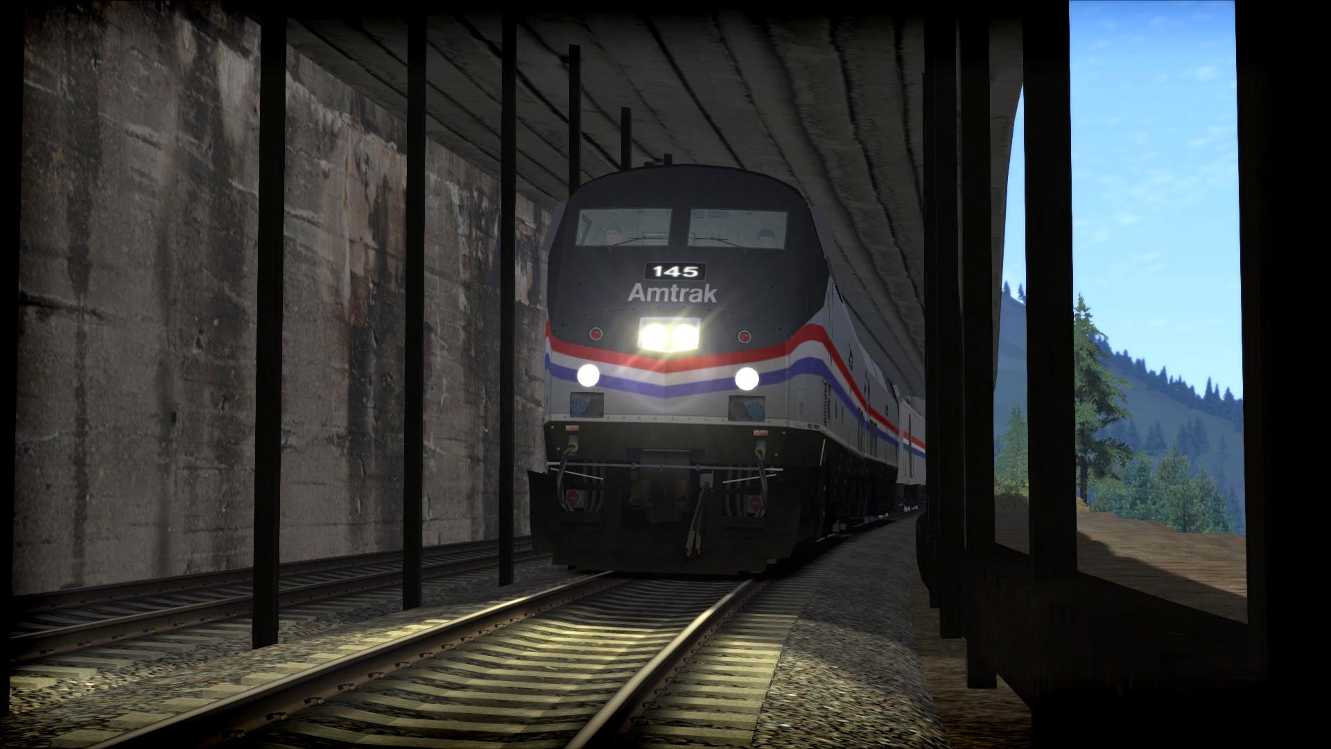 Train Simulator: Amtrak P42 DC 'Empire Builder' Loco Add-On screenshot