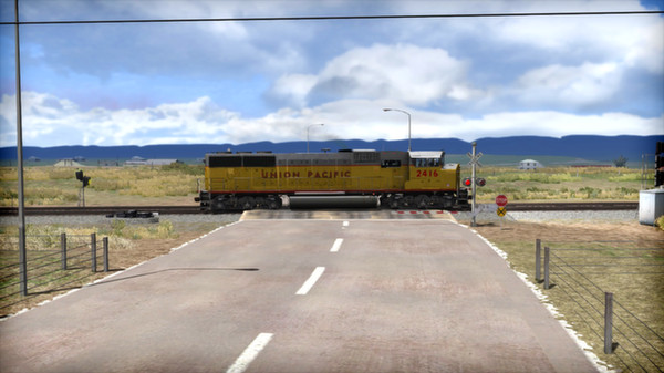 скриншот Union Pacific SD60M Loco Add-On 2