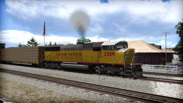 скриншот Union Pacific SD60M Loco Add-On 0